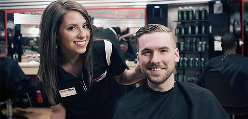 Sport Clips Haircuts of Riverview​ stylist hair cut